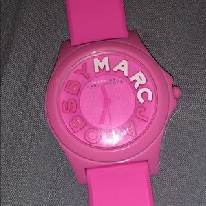 Pink Marc Jacobs watch